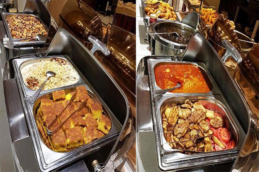 تهیه غذای قصر