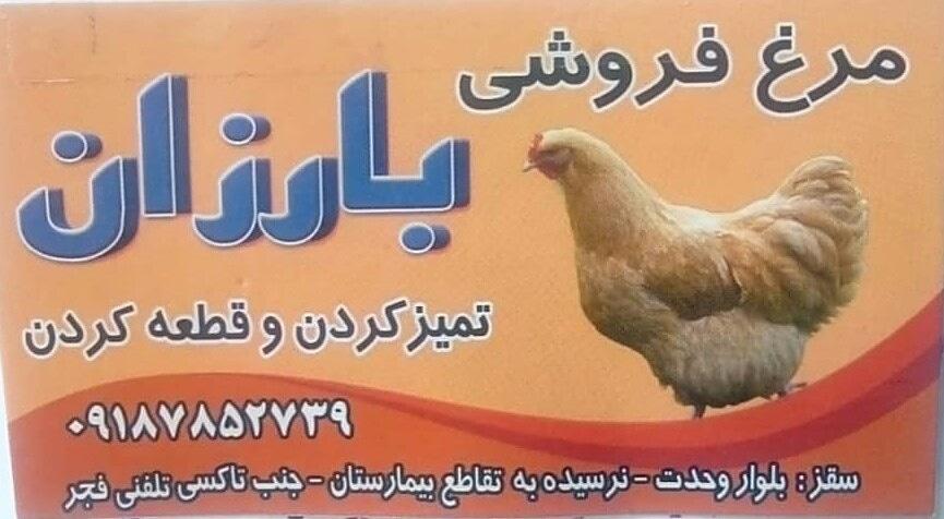 مرغ فروشی بارزان