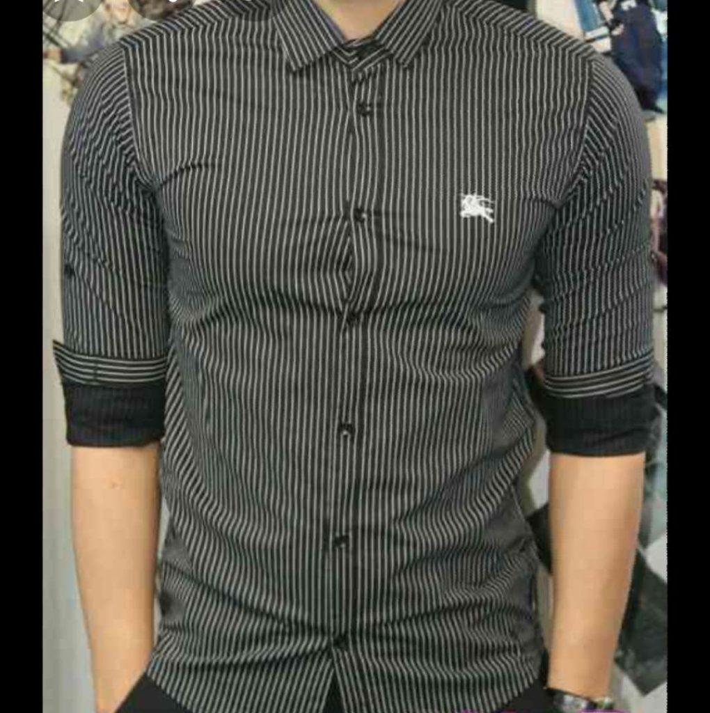 پوشاک مردانه سیاه و سفید
