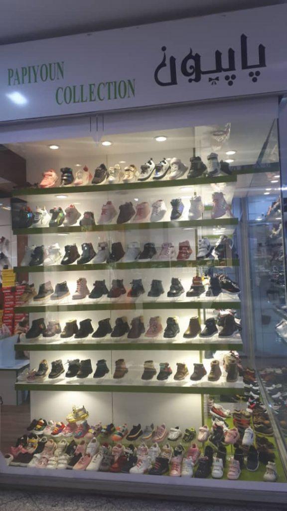 کفش پاپیون بورس انواع کفش های بچگانه