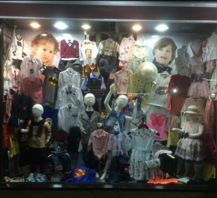 پوشاک بچگانه پاستیل